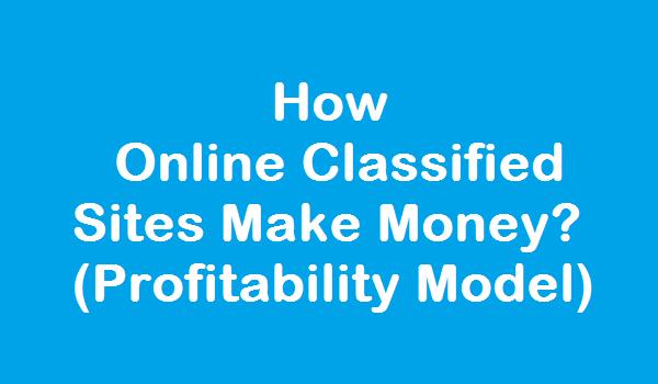 How Classified Websites Make Money? 1