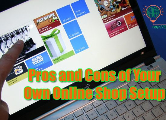 12 Pros and 5 Cons of having Own Online Shop
