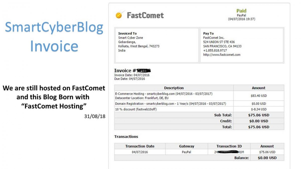Why We Switched to FastComet from SiteGround? 1