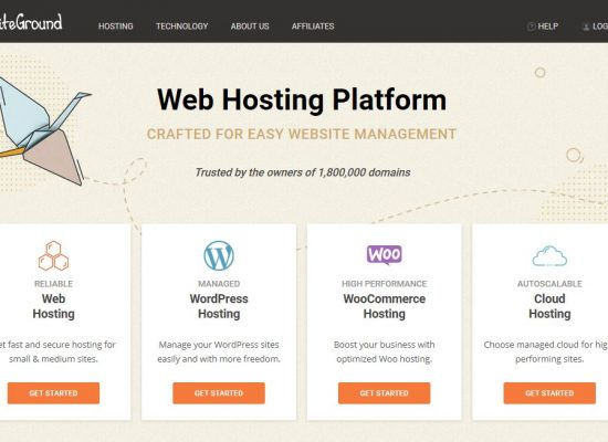 SiteGround Managed WP Hosting